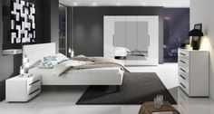 Slaapkamer Hampton 180 - Wit - Groot 2