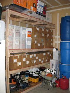 IMG_0149 Storage Room, Emergency Preparedness, Nerf, Room Ideas, Home, Pantry Room, Ad Home, Homes, Haus