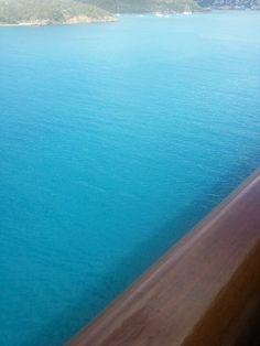 From my carnival glory cruisw balcony. St Thomas!! #stthomas #cruise #vacation #ocean #carribean