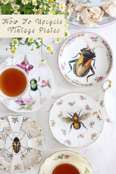 How To Upcycle Vintage Plates | eBay