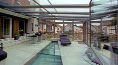 Giardini di Inverno Sunroom - vetrate e coperture mobili Sunroom sono sinonimo di più spazio, più luce, più funzionalità in tutte le stagioni.