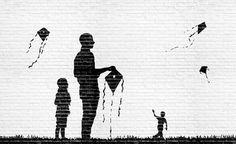 Kuvahaun tulos haulle street art simple black and white