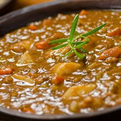 This curry lentil soup is very wholesome and satisfying. This is a great soup on a cold day.. Curry Lentil Soup Recipe from Grandmothers Kitchen.