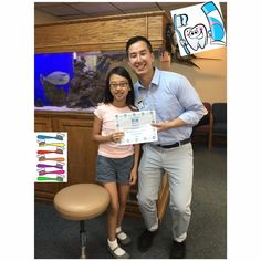 Our patient is a winner for excellent brushing. Great Job! #Glendale #Smile #Teeth #Dental #BrushFlossRinse #BrushYourTeeth #BrushThoseTeeth #Ortho #Orthodontist #Orthodontics #Braces #excellent #oralcare #oralhygiene #oralhealth