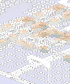 AA School of Architecture Projects Review 2012 - Diploma 8 - Yheu-Shen Chua Water Architecture, School Architecture, Aa School, Axonometric Drawing, Perspective, Walled City, Concept, 3d, Quilts