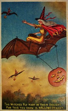 pinterest vintage halloween postcards - Yahoo Image Search Results