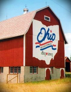 766933fb05472 Ohio Bicentennial Barns Defiance Ohio, Beautiful Farm, Beautiful Sites,  Beautiful Places, Watercolor