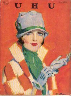 Dalton Stevens, cover UHU, Januar 1928