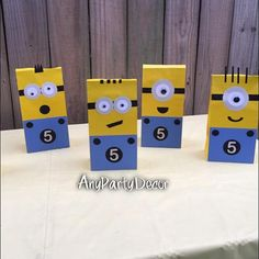 Minion Birthday Party Favor Bags 10 bags Minecraft Birthday Party, Minion Birthday, Birthday Party Favors, 2nd Birthday Parties, Birthday Party Decorations, Party Themes, Party Ideas, Diy Ideas, Minion Games