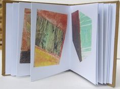In the field by Estella Scholes, Artist Book, scanned from original collagraphs