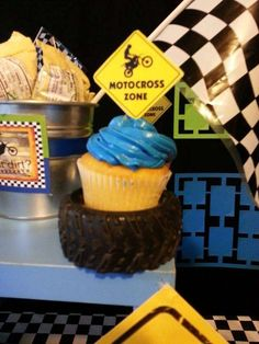 Motocross Birthday Party Ideas | Photo 1 of 9 | Catch My Party