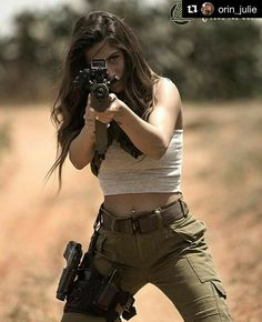 Girl with a Weapon girl guny myspace images Military girl . Women in the military . Women with guns . Girls with weapons Military Women, Military Army, Airsoft, By Any Means Necessary, Tough Girl, Female Soldier, Army Soldier, Big Guns, Badass Women
