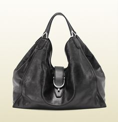 @Jan Fuller  Go check out this bag at Gucci if you go to the shops at Wailea: soft stirrup black washed leather shoulder bag