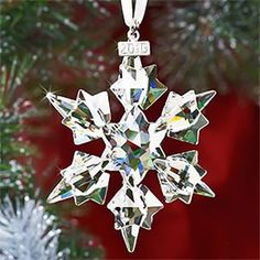 Swarovski 2010 Annual Edition Crystal Snowflake Ornament for Christmas ...    comfortablehomedesign.com