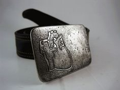 Anatomical Heart Belt Buckle  Etched Stainless by RhythmicMetal, $60.00