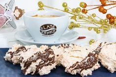 kokosové pusinky - KAMzaKRASOU.sk Tea Cups, Eat, Tableware, Dinnerware, Tablewares, Place Settings, Tea Cup, Cup Of Tea