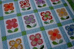 Zakka blocks | Zakka 2.0 Week 10/ Swedish Bloom Lap Quilt