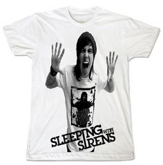 Sleeping with Sirens Kellin Quinn Metal rock band Music Album Band T-shirt Size.S by Rock Music Tee, http://www.amazon.com/dp/B00CA497B2/ref=cm_sw_r_pi_dp_1BmYrb1MN2GBR