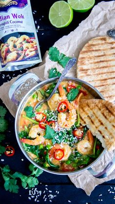 Scampi Curry, Indian Food Recipes, Ethnic Recipes, Tasty, Yummy Food, International Recipes, Pasta Salad, Food Inspiration, Love Food