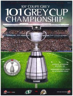 2013 Grey Cup program