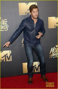 Chris Pratt Wins Best Action Performance at MTV Movie Awards 2016 - April 9th 2016