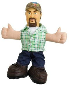 Larry the Cable Guy Blue Collar Comedy Tour Talking 12 Doll