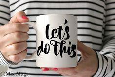 Für volle Motivation am Morgen: Tasse mit Spruch #Büro #Arbeit