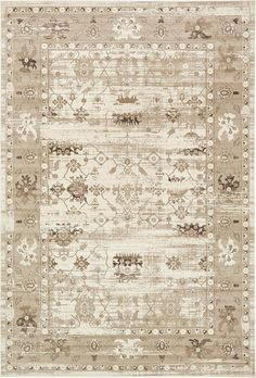 Cream Montreal Area Rug