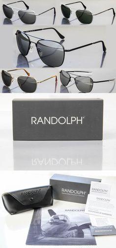 bed0511b22 Sunglasses 79720  New Randolph Engineering Aviator Sunglasses! Choose Your  Color