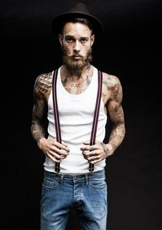 Billy Huxley People. Indie. Cool. Confidence. Guys. Hair. Beards. Style. Tattoos. Body. Faces. Natural. Dapper.