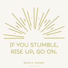 Rise up, Go On