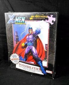 "MARVEL X-Men Magneto 550 Pcs Puzzle Possibilities Special Edition Marvel 18""x24"" #Marvel"