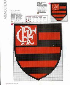 Blog de belartesanato :Belartesanato, Times de Futebol_Flamengo Cross Stitch Games, Sandbox, Le Point, Porsche Logo, Hello Kitty, Logos, Easy Cross Stitch, Cross Stitch Love, Coat Of Arms