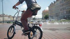 détente en vélo électrique pliant VEPLI Jazzy ... ebike ! profitez de l'été !