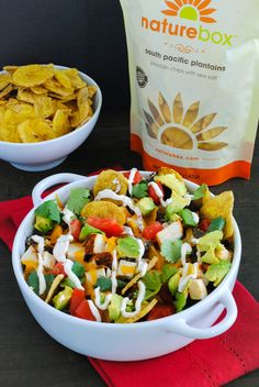 chicken nachos with south pacific plantains we used the plantains to ...