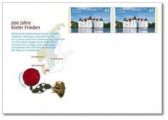 Umschlag würdigt Kieler Frieden