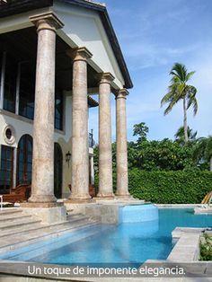 ¿Necesitas columnas? Nostros te fabricamos los mejores estilos que desees, visíta nuestra página web www.marmolesdehonduras.com