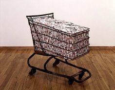 """Collateral"" by Hans Haacke #Walmart #1991"