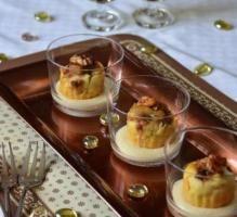 Recette - Mise en bouche au foie gras et figues avec sa sauce au Sauternes - Proposée par 750 grammes