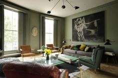 Studio Toogood carried out the interior design of a large townhouse for a private client in London.