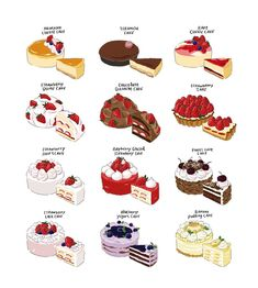Food and drink wallpaper cartoon food and drink wallpaper cartoon Cute Food Art, Cute Art, Desserts Drawing, Real Food Recipes, Yummy Food, Dessert Illustration, Cute Food Drawings, Food Sketch, Cute Desserts