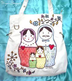 For Chinadoll830  YOUR MATRYOSHKA FAMILY by littleblackdress