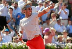 The Spanish tennis star - Rafael Nadal
