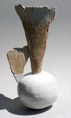 tumbleword:    Jane Wheeler    Shino Tripod Flask    42cm x 21cm    (via neutralnotes)