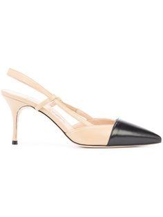 e7bc5b111bd Shop Manolo Blahnik Evocity pumps. Low Heel Shoes