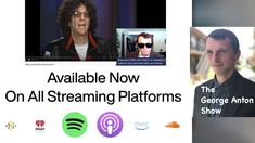 The George Anton Show Podcast Spotify Promo Watch Free Full Movies, Film Director, Anton, Writer, Music, Youtube, Sign Writer, Muziek, Musik