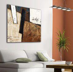 cuadros modernos abstractos con textura - Buscar con Google