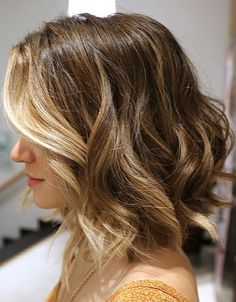 Try this gorgeous short ombre bob the next time you're at the salon!