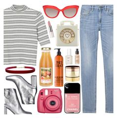 04.27.17   5:28 PM   Spring Street Style by lilchick88 on Polyvore featuring polyvore fashion style Monki Yves Saint Laurent Charlotte Olympia Gemma Redux Humble Chic Perricone MD TIGI Essie Fujifilm clothing