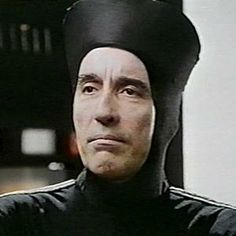 "Christopher Lee as Captain Rameses in "" Starship Invasions"" (1977)"